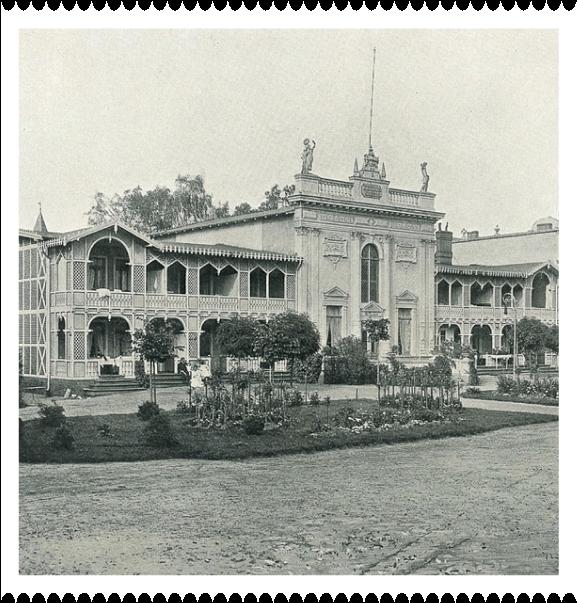 Dom Zdrojowy (Kurhaus) w Gdańsku Brzeźnie na początku XX w.