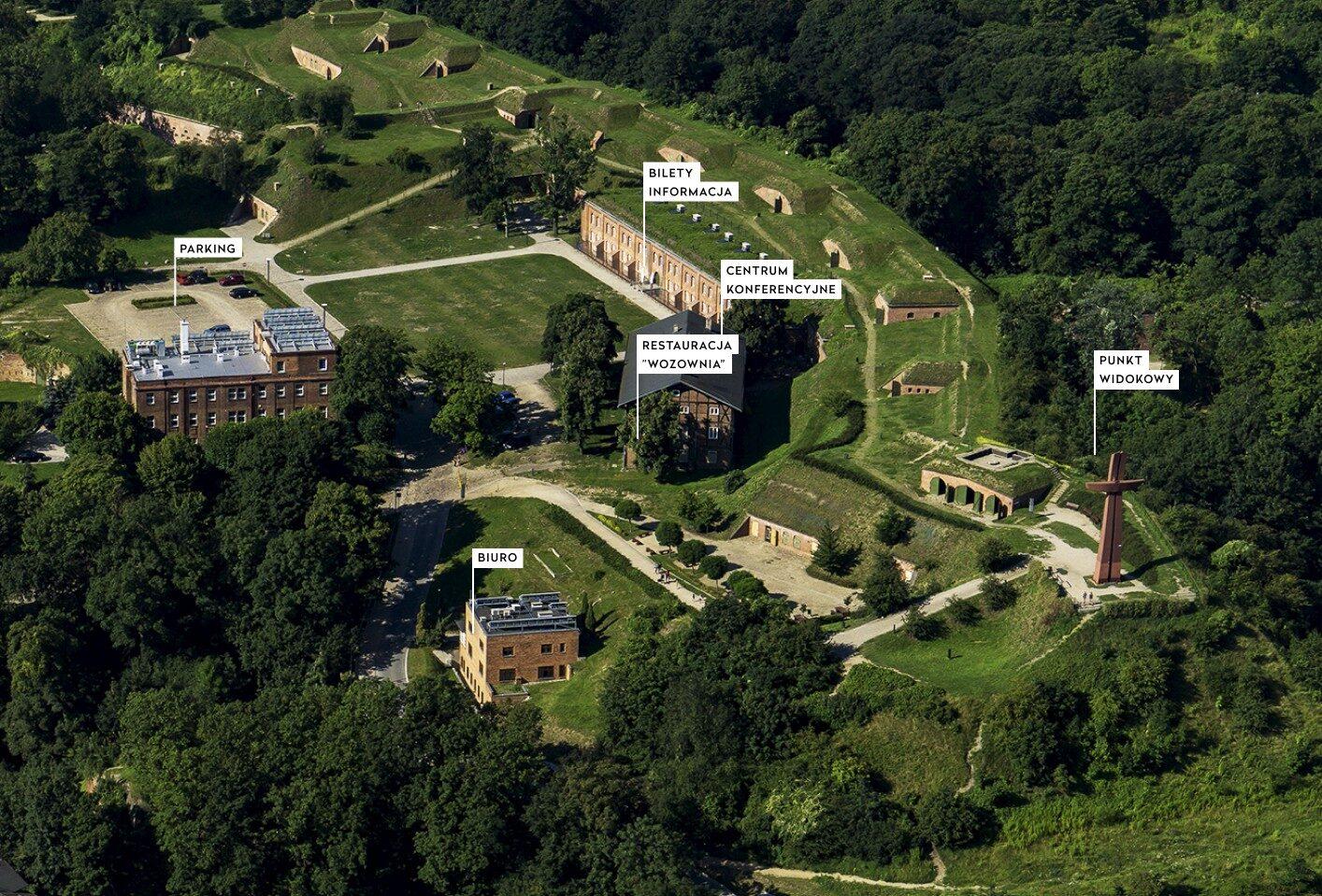 Na zdjęciu: Fort Góry Gradowej