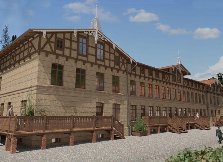 budynek 21 D - wizualizacja