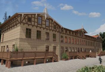 Wizualizacja budynku 21 D